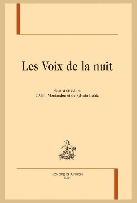 A. Montandon, S. Ledda (dir.), Les Voix de la nuit