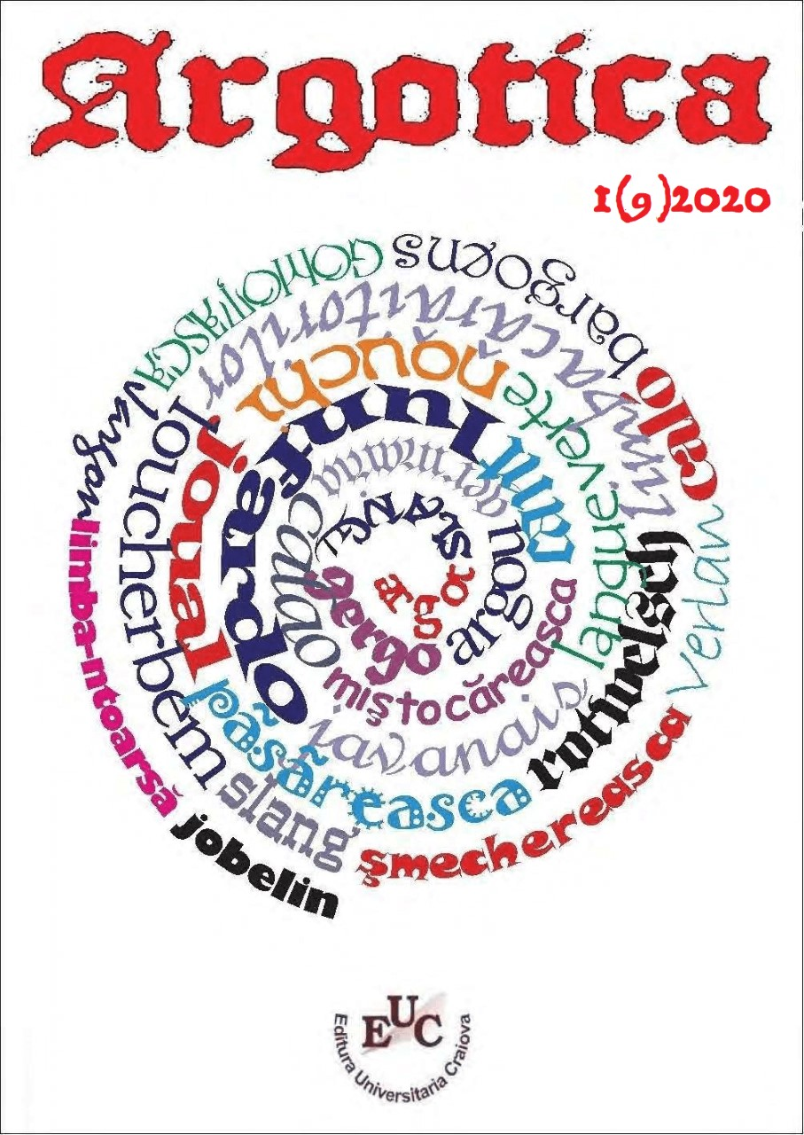 Argotica, n° 1(9)/2020 :
