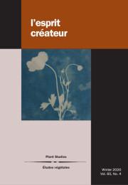 L'Esprit créateur, vol. 60-4: