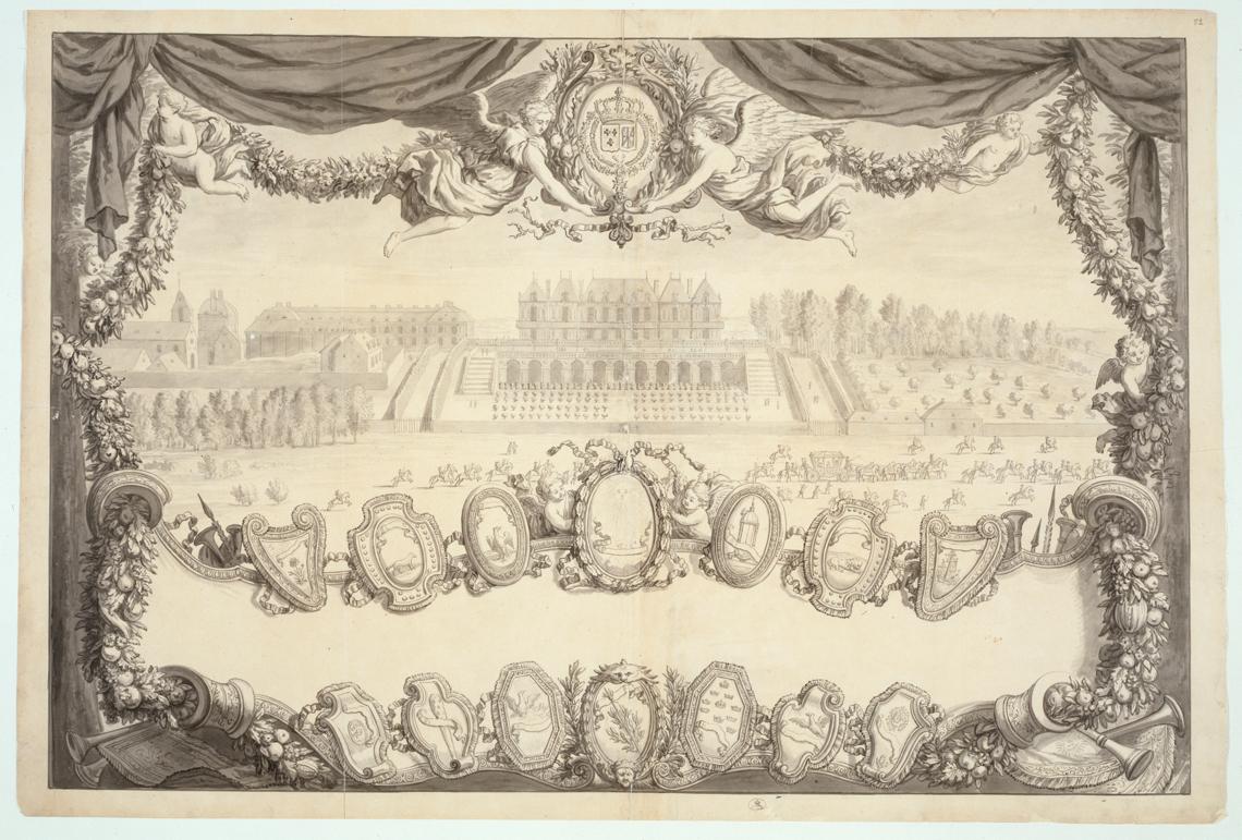 Merveilles de la cour : bibliothèque numérique des divertissements de cour au XVIIe siècle