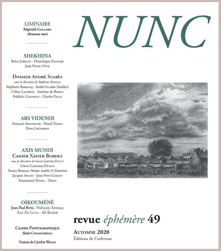 Revue NUNC, n°49