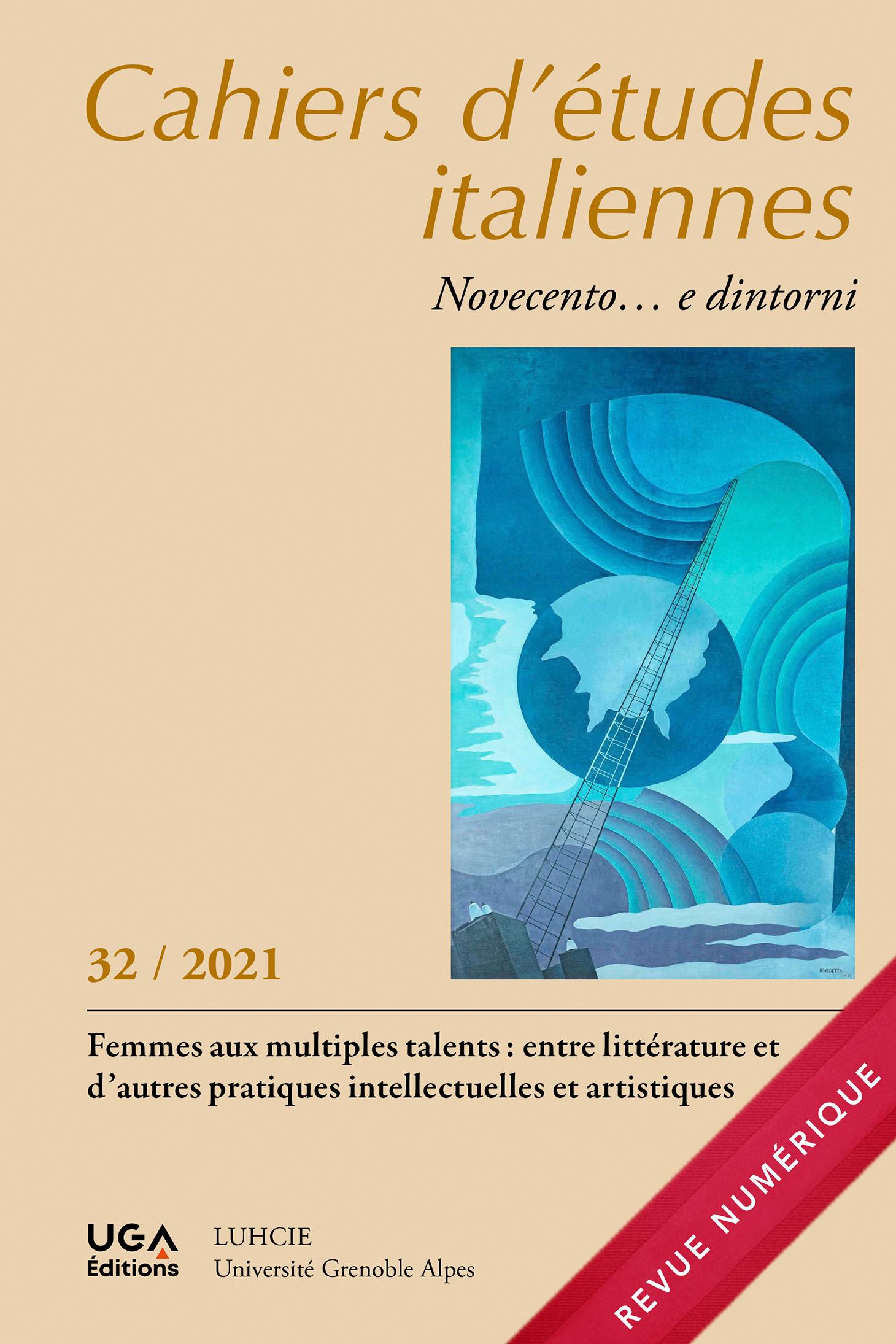 Cahiers d'études Italiennes, n° 32-2021 :