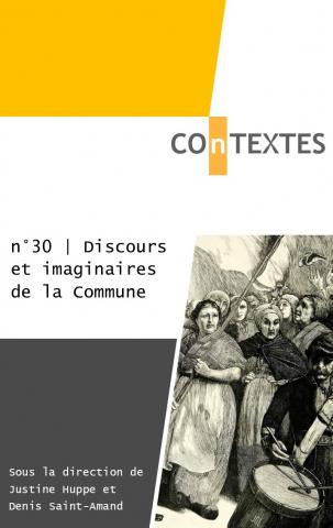 J. Huppe et D. Saint-Amand (dir.), COnTEXTES n° 30 :