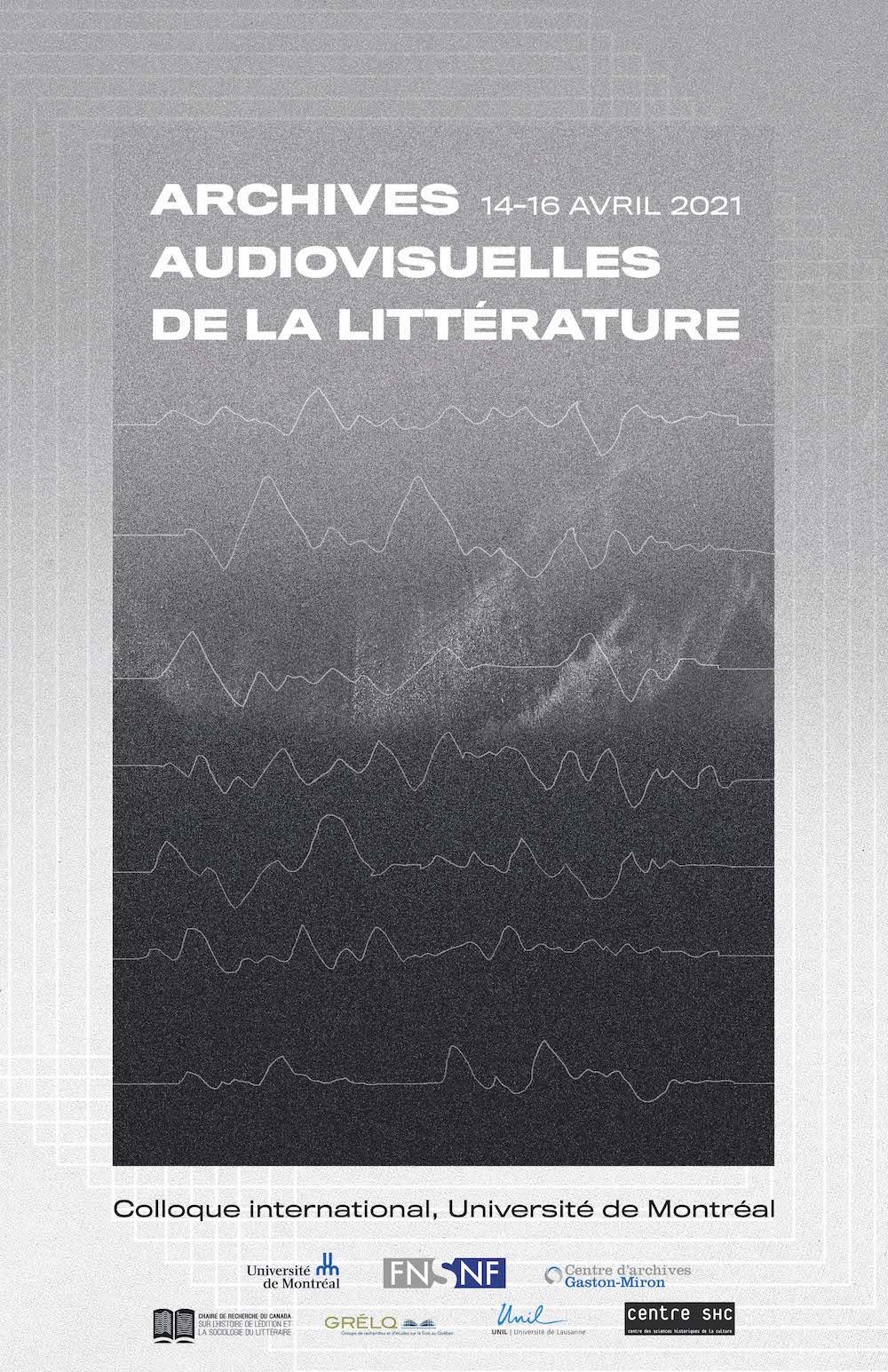 Archives audiovisuelles de la littérature (Montréal, en ligne)