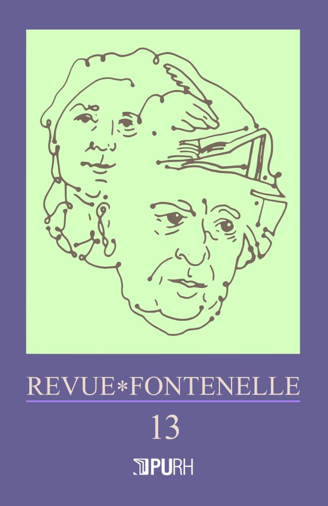 Revue Fontenelle, n° 13 :