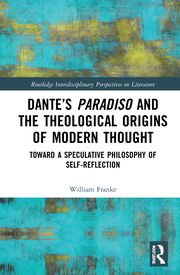 W. Franke. Dante's Paradiso and the Theological Origins of Modern Thought. Toward a Speculative Philosophy of Self-Reflection