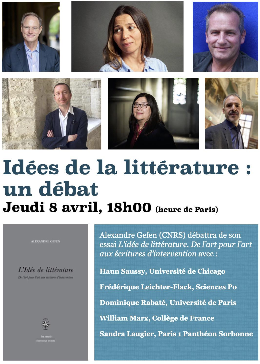 Idées de la littérature : un débat