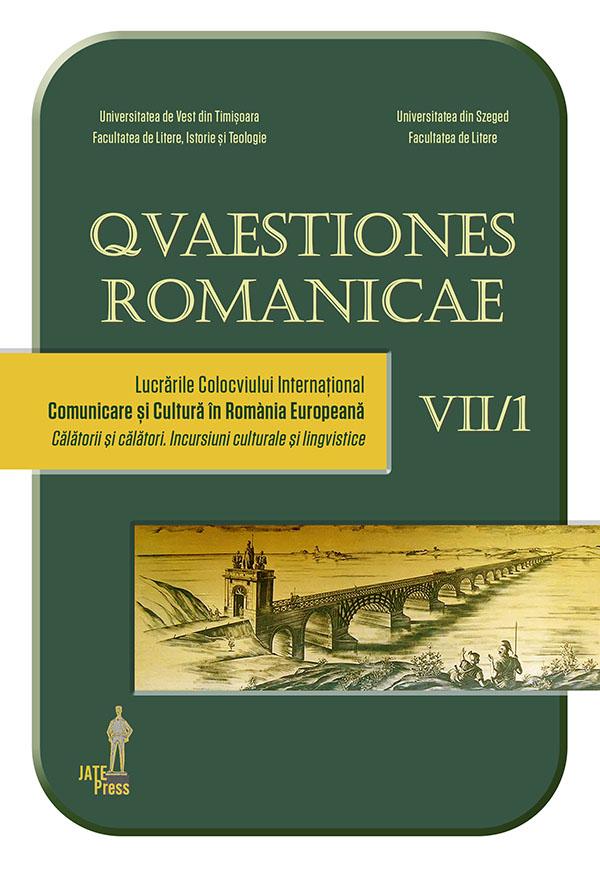Quaestiones Romanicae VII, 1-2 / 2019 :