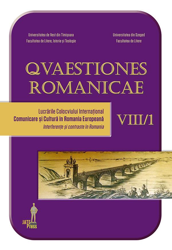 <em>Quaestiones Romanicae</em> VIII, 1-2 / 2020 :
