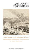 Études françaises, n° 57-1: