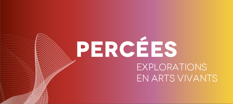 Percées - Explorations en arts vivants, n° 3