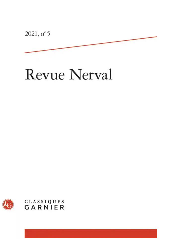 Revue Nerval, n°5, 2021 (dir. J.-N. Illouz, H. Scepi)