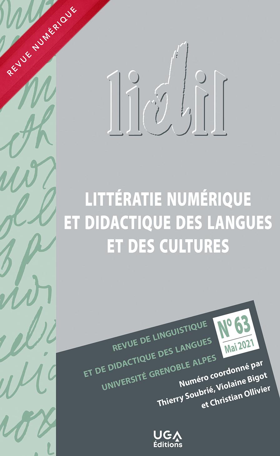 Lidil, n° 63: