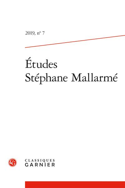Études Stéphane Mallarmé, n° 7