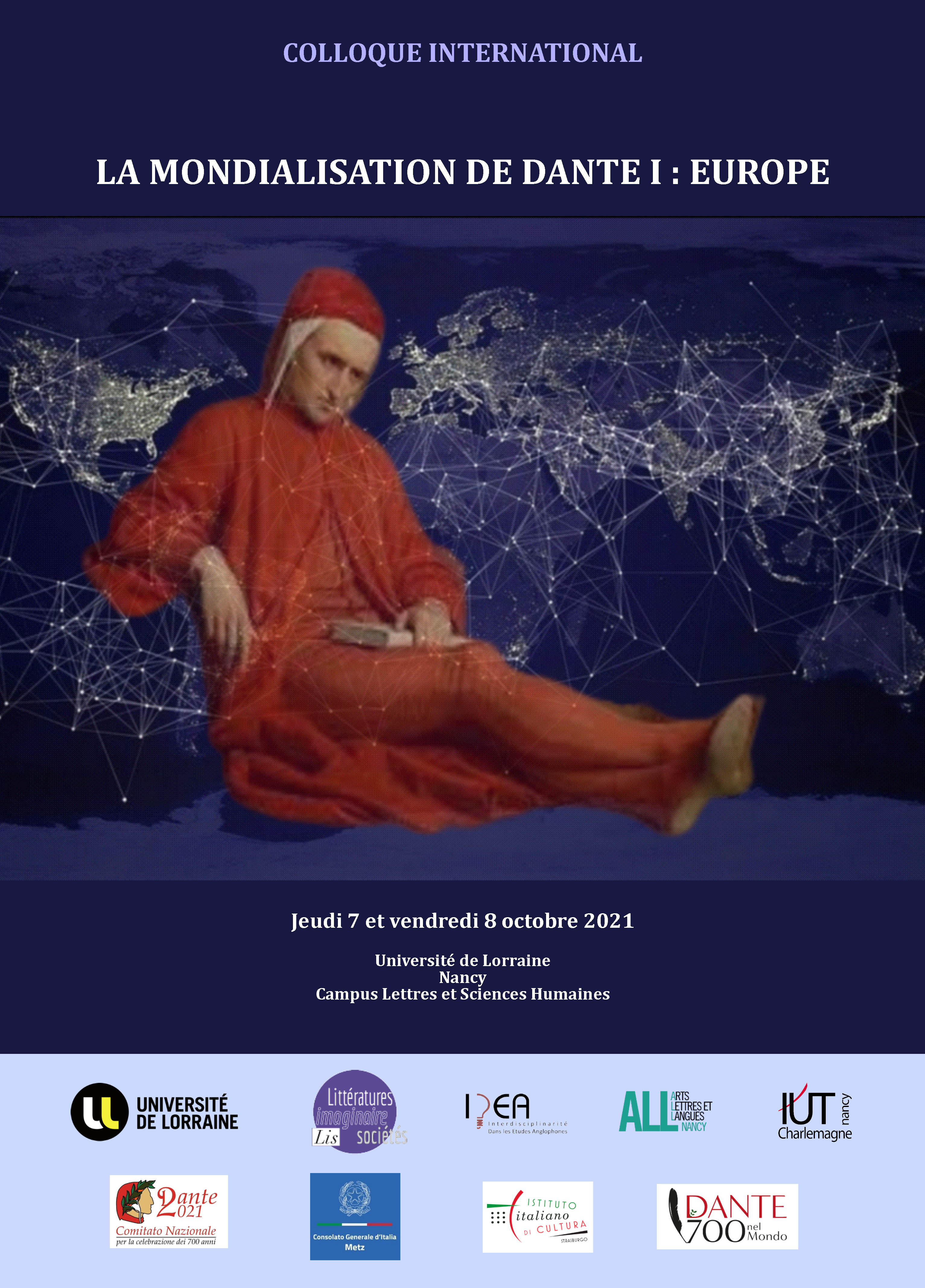 La Mondialisation de Dante I : Europe (Nancy)