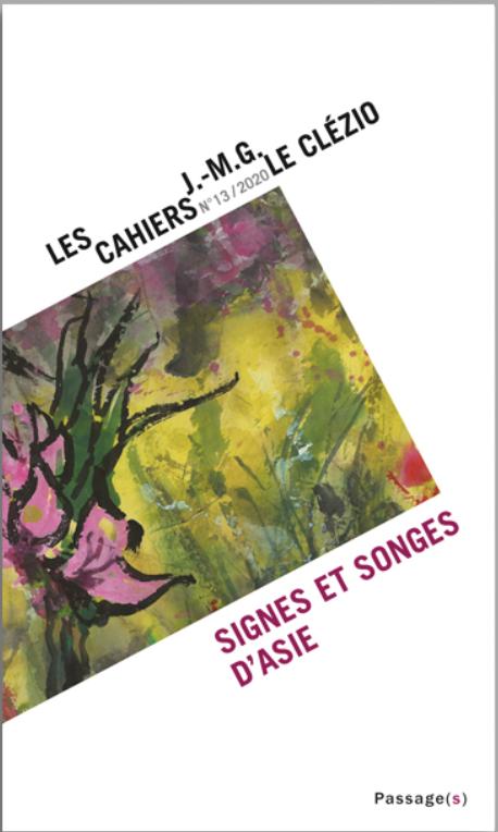 Les Cahiers J.-M.G. Le Clézio, n°13 :