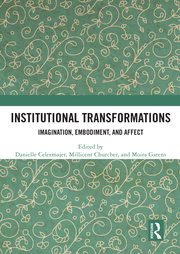 D. Celermajer, M. Churcher, M. Gatens (ed.). Institutional Transformations. Imagination, Embodiment, and Affect