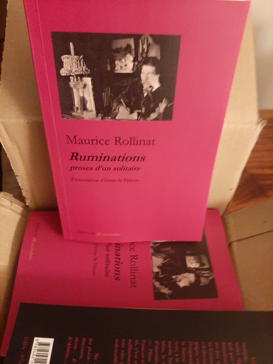M. Rollinat, Ruminations, proses d'un solitaire (éd. I. de Palacio)