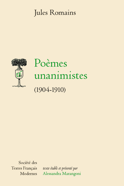 J. Romains, Poèmes unanimistes 1904-1910 (éd. A. Marangoni)