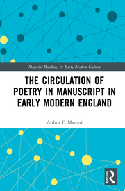 A. F. Marotti.The Circulation of Poetry in Manuscript in Early Modern England