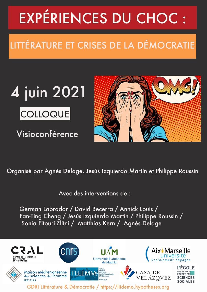 Expériences du choc : littérature et crises de la démocratie