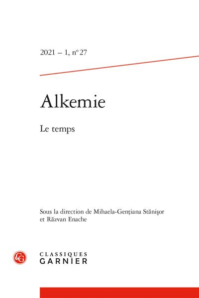 Alkemie, n° 27: