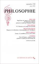 Philosophie, n° 150