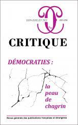 Critique, n° 889-890: