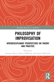 S. Ravn, S. Høffding, J. McGuirk (ed.). Philosophy of Improvisation. Interdisciplinary Perspectives on Theory and Practice