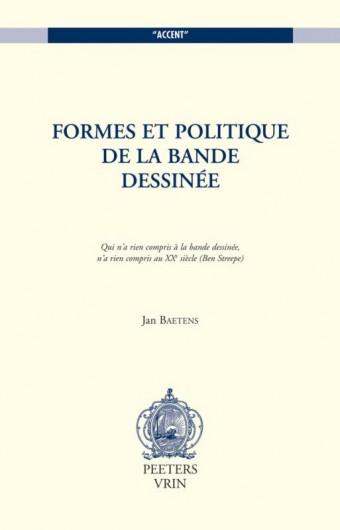 Retour sur <em>Formes et politiques de la bande dessinée</em> (1998) – Entretien avec Jan Baetens