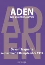Aden. Paul Nizan et les années trente, n° 17-18: