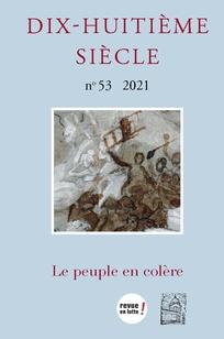 Dix-huitième siècle, n° 53, 2021 :