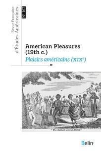 Revue française d'études américaines 2021/2, n° 167: