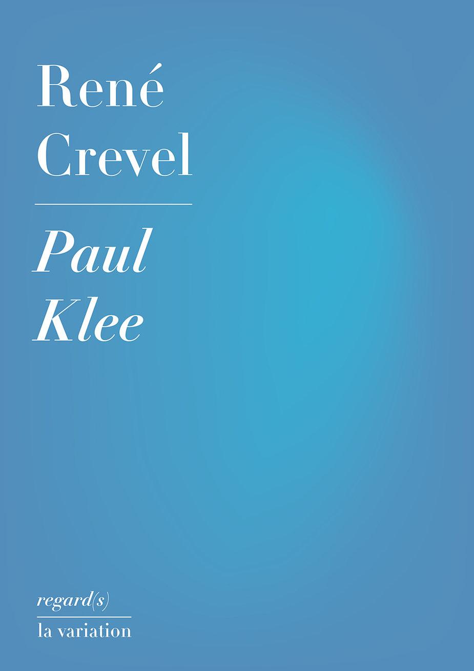 R. Crevel, Paul Klee (1930)