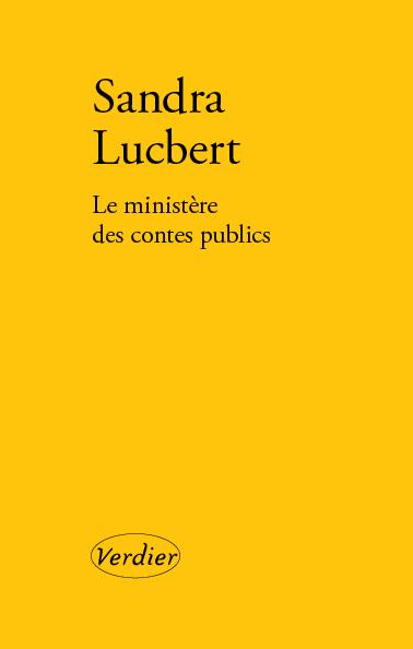 S. Lucbert, Le Ministère des contes publics