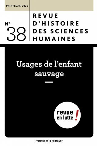Revue d'histoire des sciences humaines, n° 38: