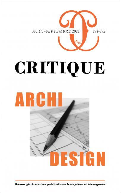 Critique, n° 891-892: