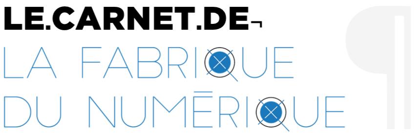 Lancement du Carnet de la Fabrique du numérique (édition, innovation et actualités du livre)