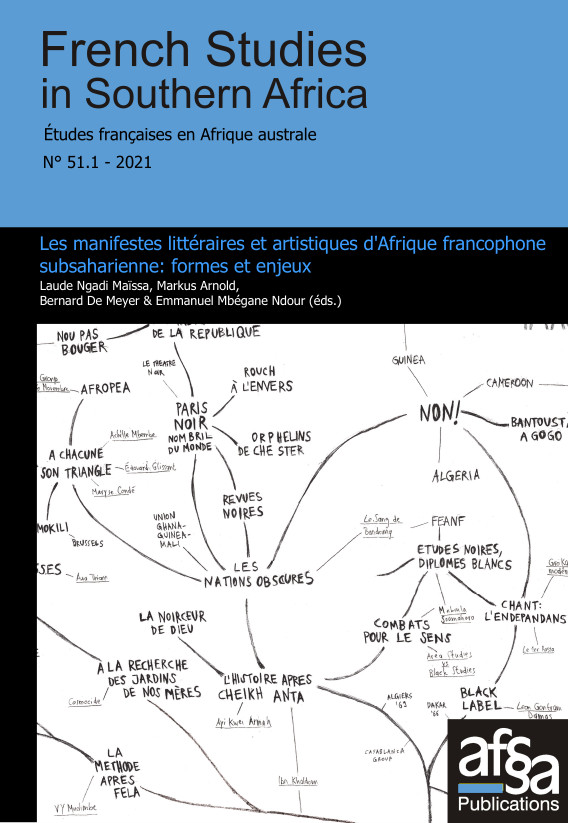 French Studies in Southern Africa, n°51.1: