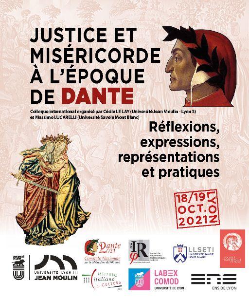 Justice et miséricorde à l'époque de Dante : réflexions, expressions, représentations et pratiques (Lyon)