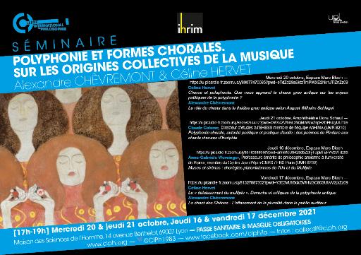 Polyphonie & formes chorales. Sur les origines collectives de la musique