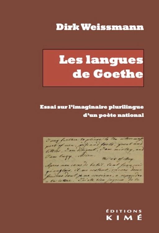 D. Weissmann, Les langues de Goethe