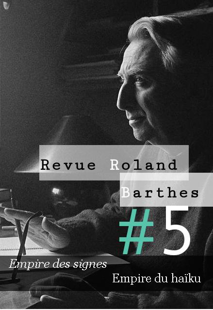 Revue Roland Barthes n°5 :