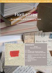 Florilettres, n° 223 :