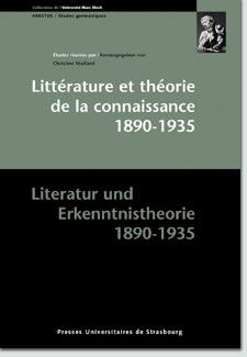Littérature et théorie de la connaissance 1890-1935