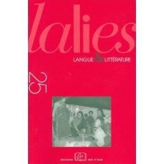 Lalies 25 :