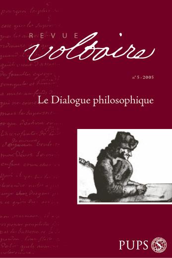Le Dialogue philosophique, Revue Voltaire n°5