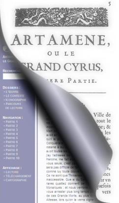 Le Grand Cyrus : le livre et l'écran