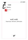 Motif, motifs, revue  Théorie, Littérature, Enseignement n°23