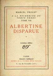 À la recherche d'Albertine disparue